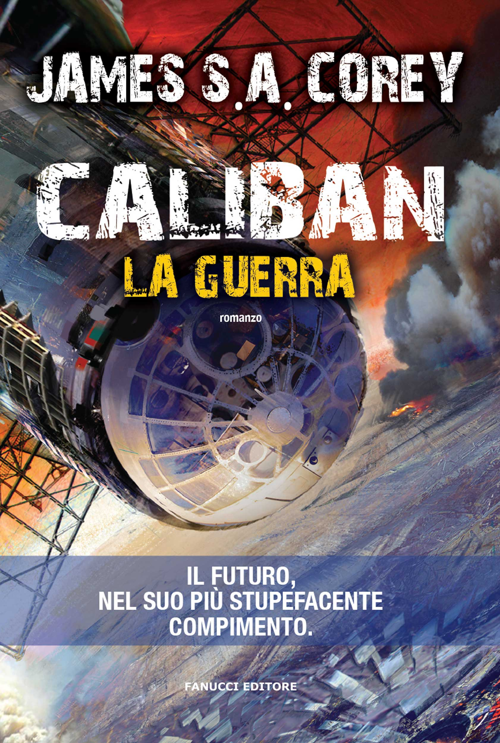 cover_Caliban_La guerra_Corey