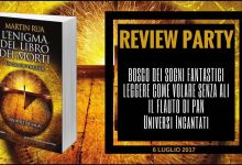 L'enigma del libro dei morti di Martin Rua – Review Party