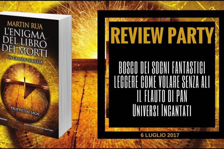 L'enigma del libro dei morti di Martin Rua – Review Party